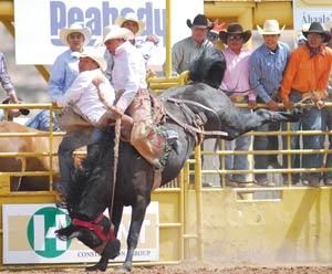 Tie Down Event Lifts Bates To All Around Title