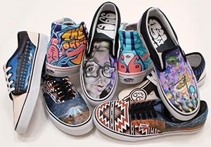 8eedb53a0d3521 Rio rancho students tap native designs for winning jpg 300x209 Custom  contest crazy vans shoes