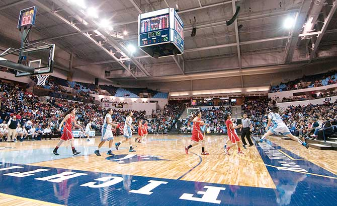 Page Spoils Window Rock S Debut In New Arena Navajo Times