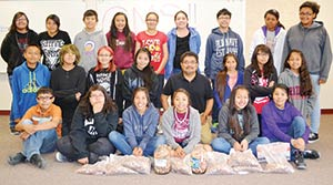Ganado Mid Students Learn From Penny War Navajo Times