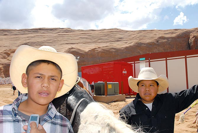 The Navajo Times Online 5 Dine Compete At Wrangler