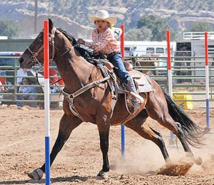 Youngsters Start Junior Rodeo With A Bang Navajo Times