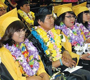 The Navajo Times Online Education Hometown Girl Speaks At Chinle