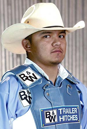 The Navajo Times Online Rodeo Champion Nelson Tsosie