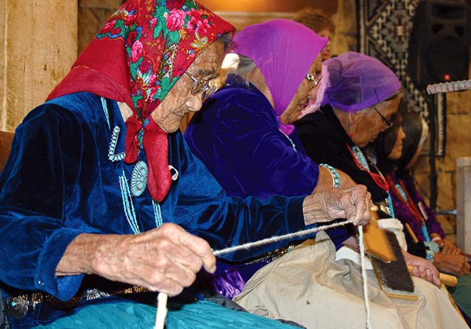 Adopt An Elder Navaho Elder For Christmas 2020 The Navajo Times Online   Elders connect with supporters at 20th