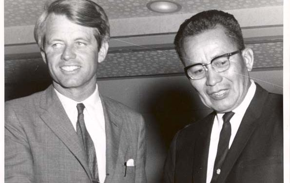 50 Years Ago: Nakai campaigns to re-elect LBJ