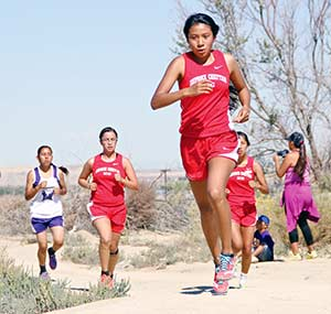 Page turns in strong performance at Davis Invite