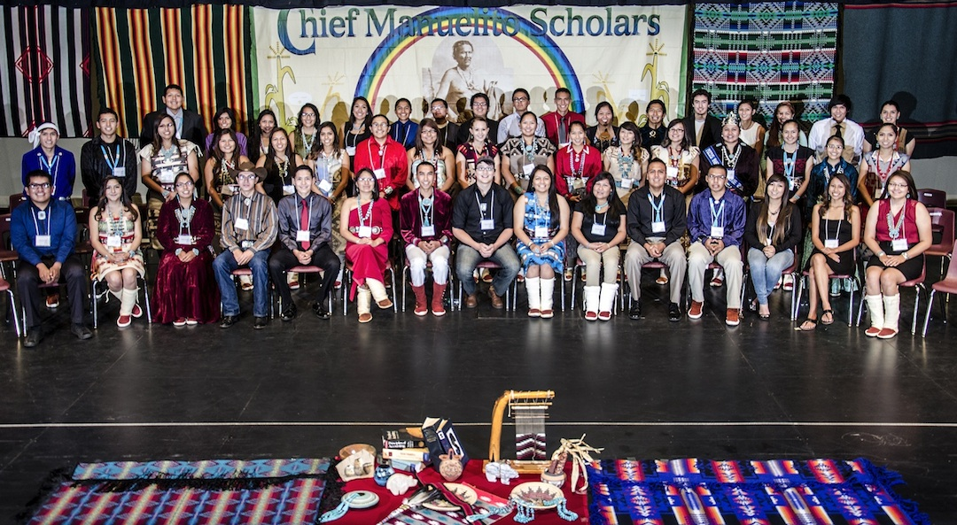 In or out of your comfort zone? Chief Manuelito scholars take both tacks