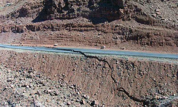 Page businesses cheer start of project reopening landslide-damaged U.S. 89