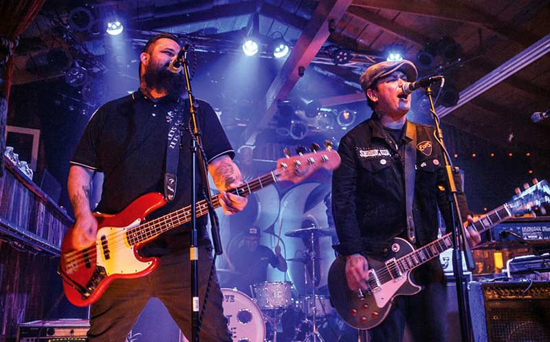 Punk rockers Left Alone return for Oct. show