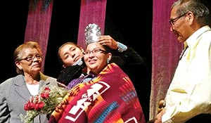 Barber is new Miss Northern Navajo, wears new crown