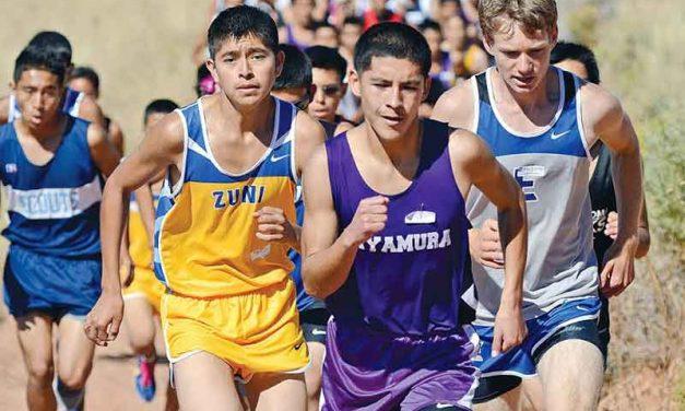 Favorites run away at Zuni cross-country Invite Zuni boys, Miyamura's Thomas stays perfect