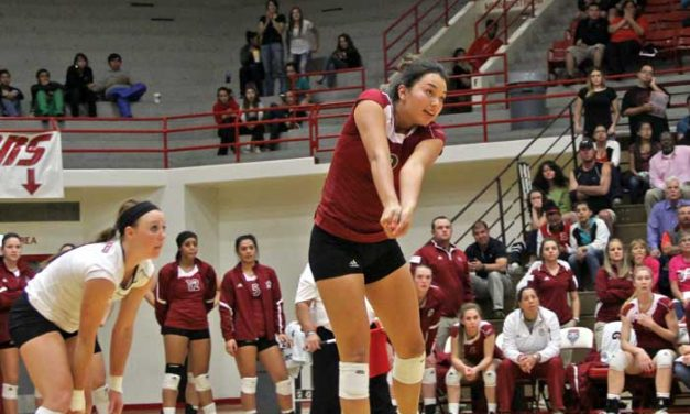 Nash matures into a leader for NMSU volleyball team
