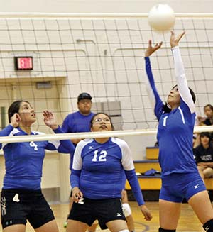 Shiprock Northwest reaching volleyball potential