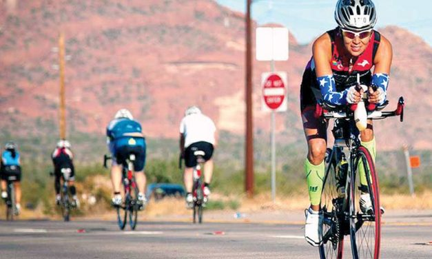 Local athlete beats her Ironman Ariz. time