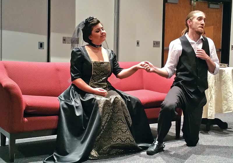 UNM performers bring opera to UNM-Gallup