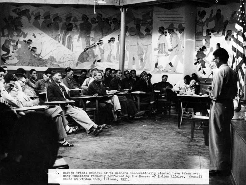 50 Years Ago – Delegate: Close Navajo Inn