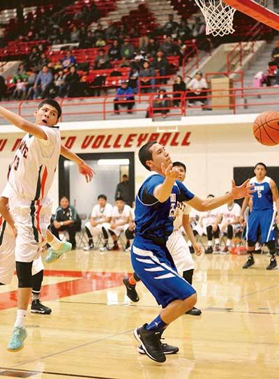 Wingate boys take down Zuni for third place