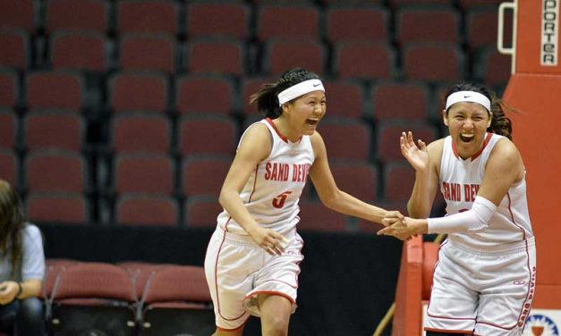 Page girls survive tough test with semifinal win over Winslow