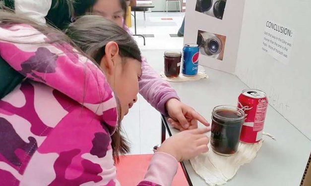 Ganado students participate in Ganado Pee Wee Science fair