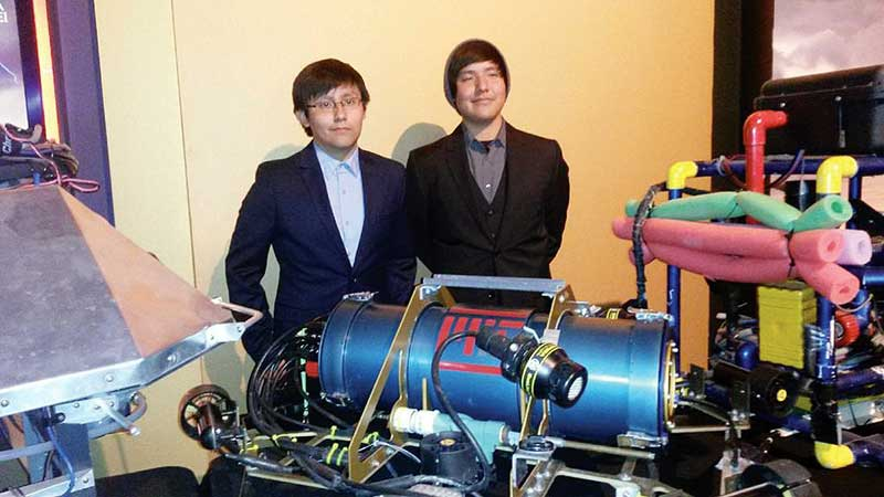 Diné brothers to compete in international robotics competition