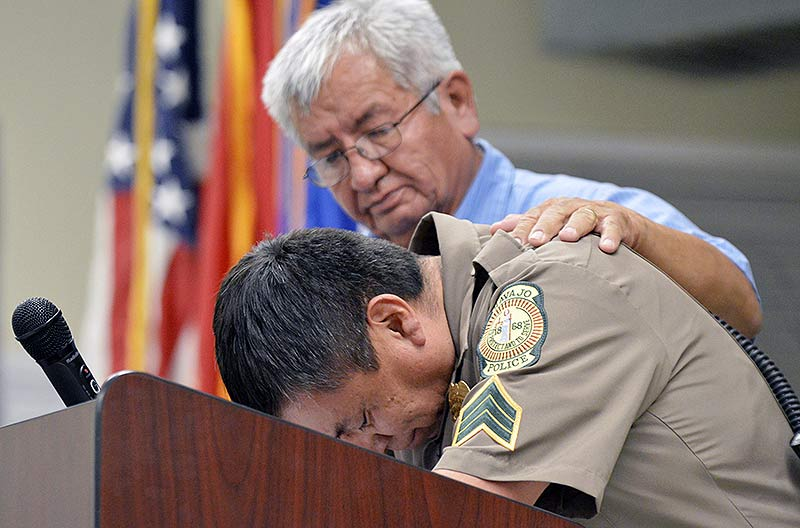 Family, police officers, community remember Yazzie