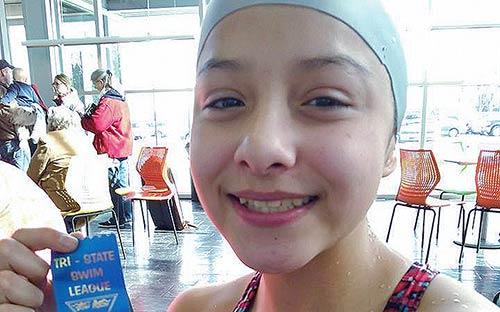 Native finds niche in swimming