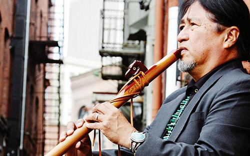 Diné fuses jazz, flute into 'Appear to Be' album