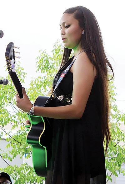 Navajo singer/songwriter Sage Bond.