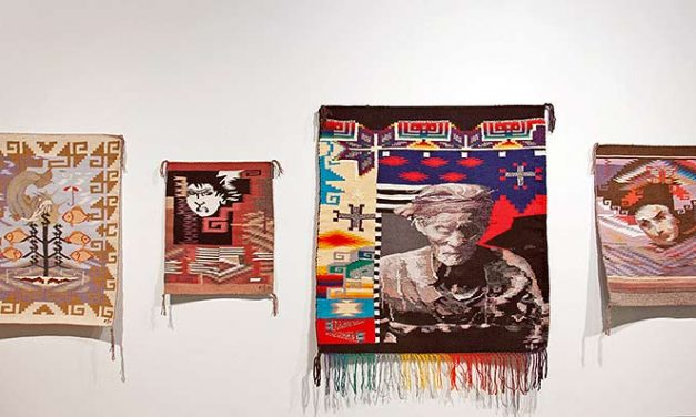 Diné weaver exhibits work in NYC