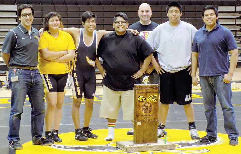 Diné girl finds her niche in wrestling