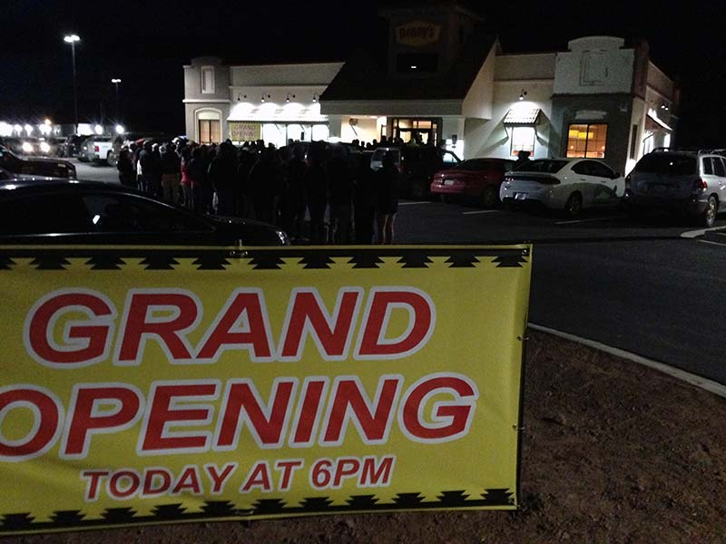 Chinle water delays Denny's grand opening