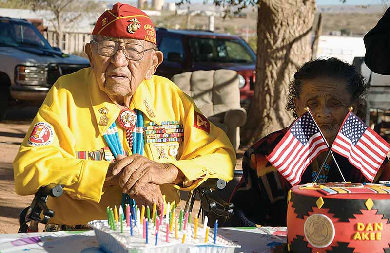 Code talker's wish: have his house renovated