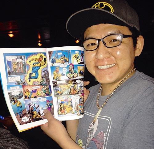 Navajo comic artist gets mainstream exposure on Leguizamo autobiography
