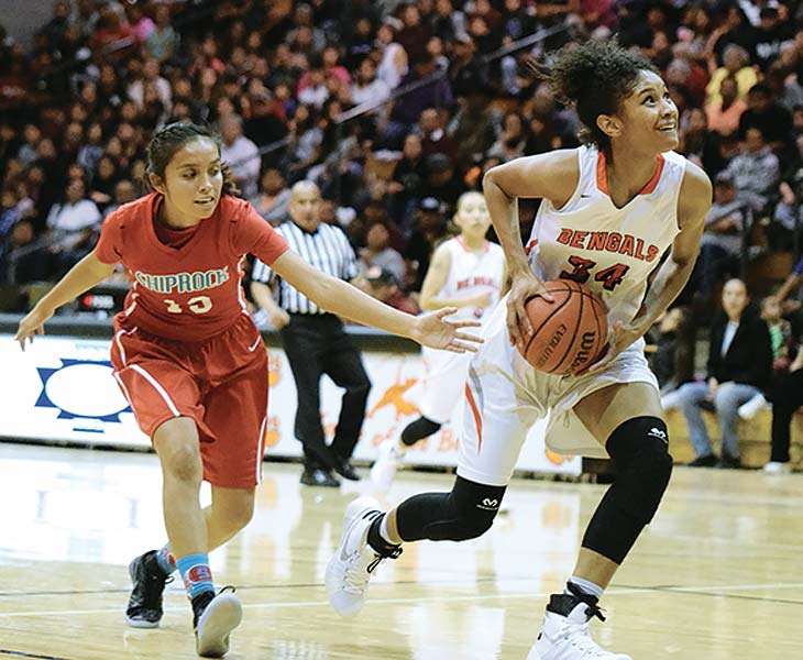 Defense turns tide for Gallup girls