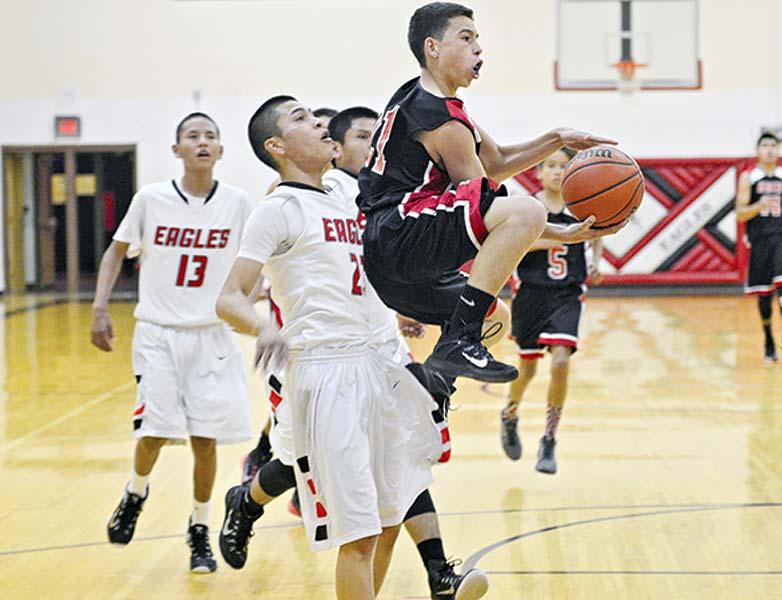NACA scores go-ahead basket to edge Crownpoint