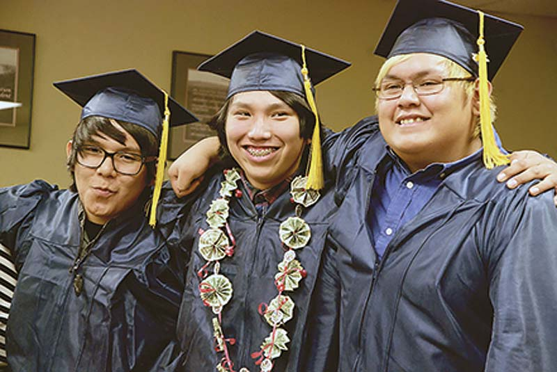Manson Mesa Celebrates First Graduating Class Navajo Times