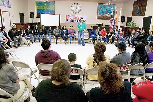 Youth workshop proves 'Failure Is Not An Option'
