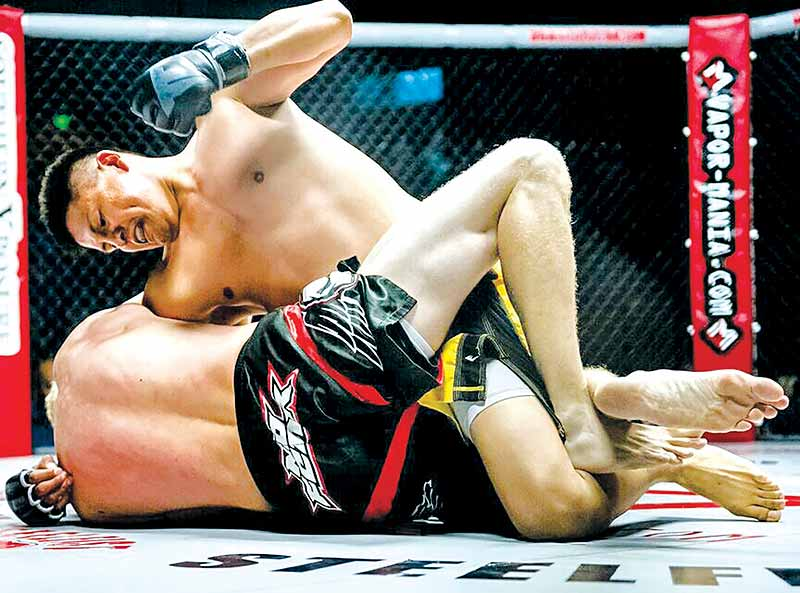 Navajo MMA fighter bouncing back from adversity, doubt