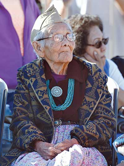At 101, family matriarch continues to be a proud veteran