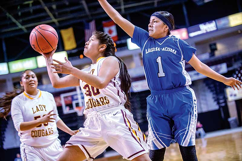 Tohatchi girls get past LA, to face top-seeded Tularosa