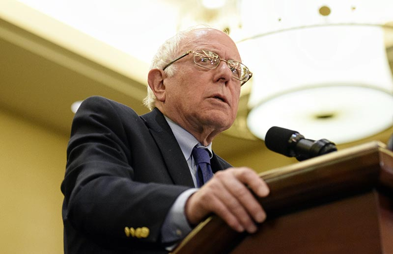 Sanders highlights suicide, sovereignty in Twin Arrows speech