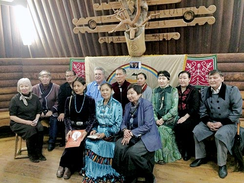 Navajo delegation experiences Russian culture