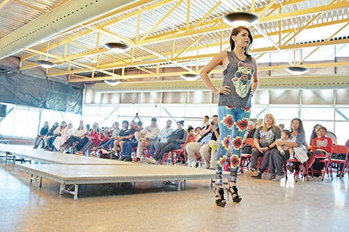 ARIZE fashion show features Native designs