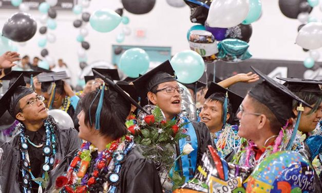 'Be selfish,' Piñon grads urged