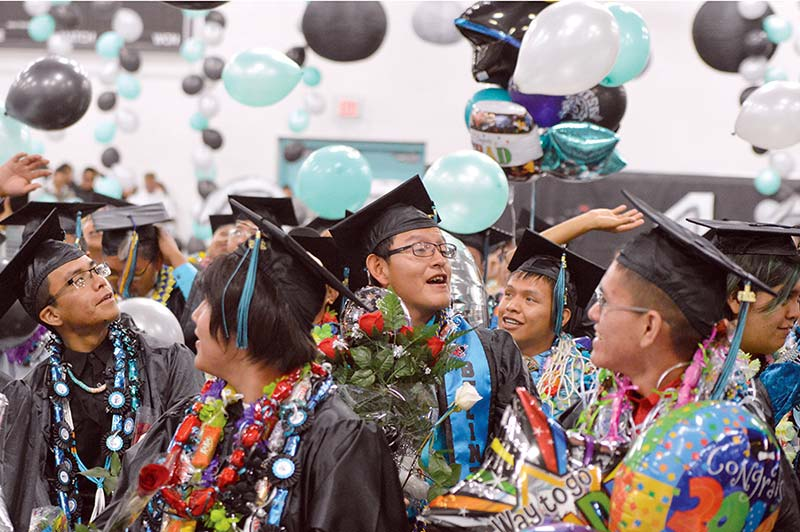 Be Selfish Piñon Grads Urged Navajo Times