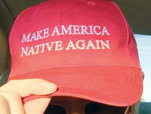 Navajo designer trumps Trump with new slogan