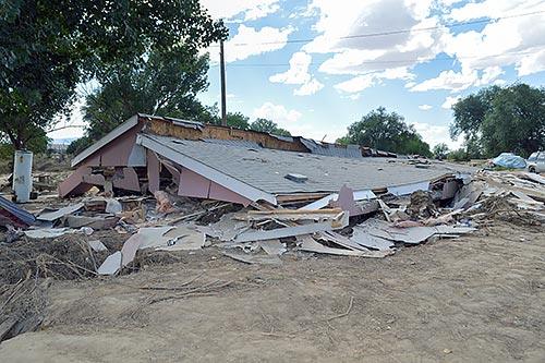 Shiprock flood destroys homes, cars, livestock