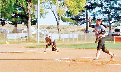 Tsosie-Hood experiences girl's fastpitch softball Western National