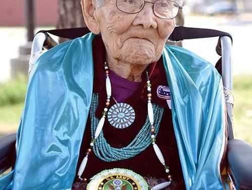 Still true blue at 102